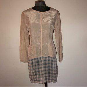 Johnny Was Collection Drop Waist Shirt Dress